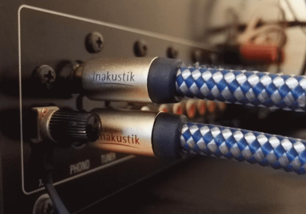 Anschluss Inakustik Premium Phonokabel